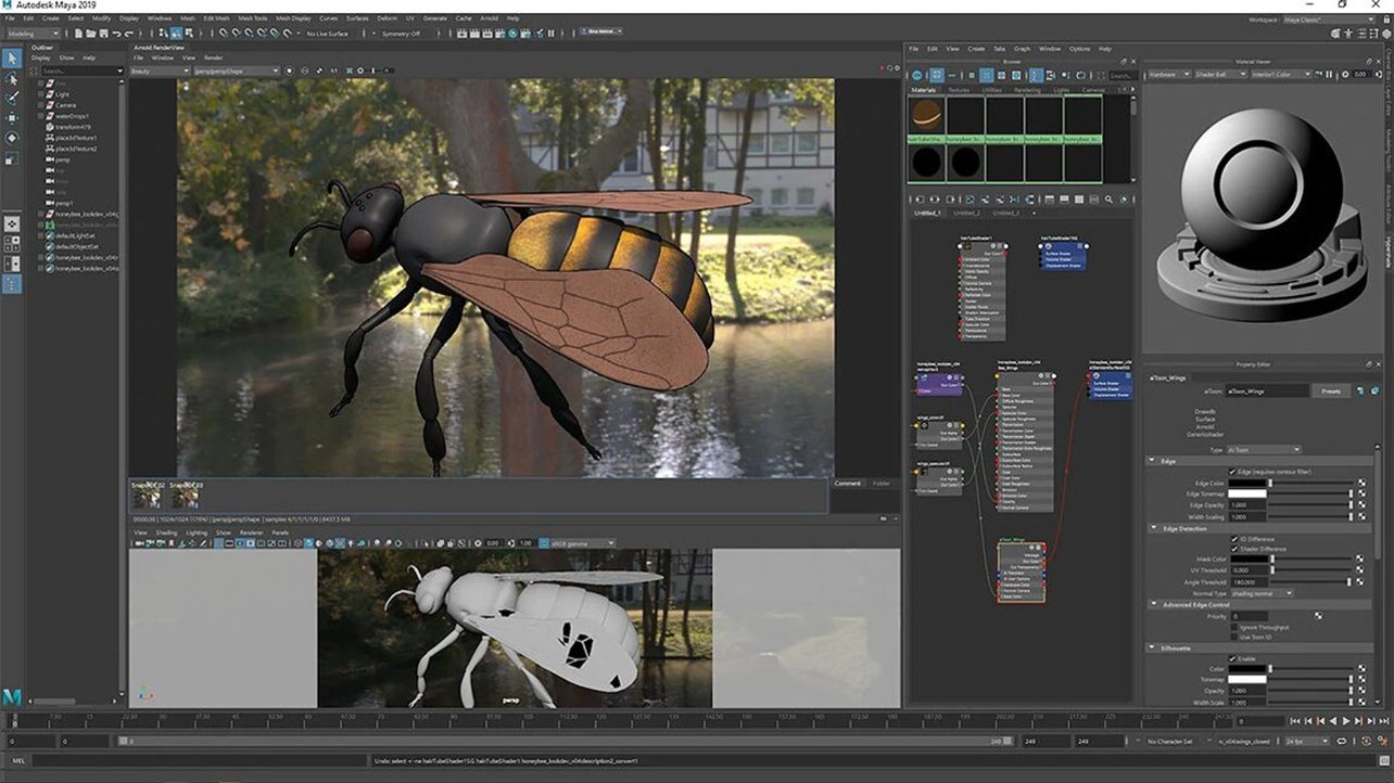 Featured image of Blender vs Maya 2022: The Differences