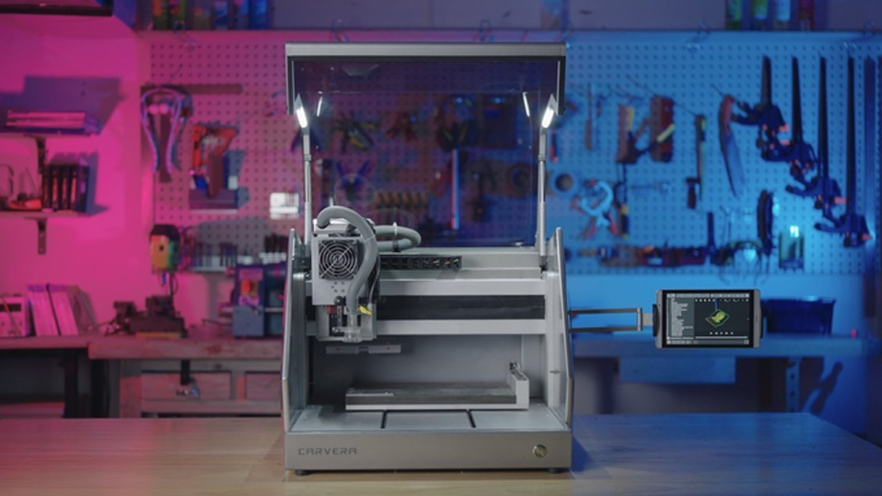 Featured image of Carvera Kickstarter Looks Cool, Could Make CNC Better
