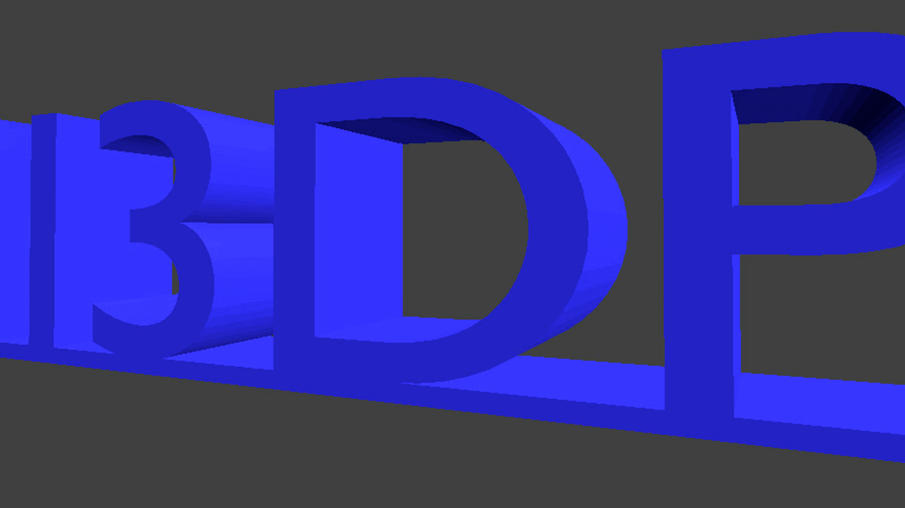 How to 3D Print Text Using Blender   All3DP