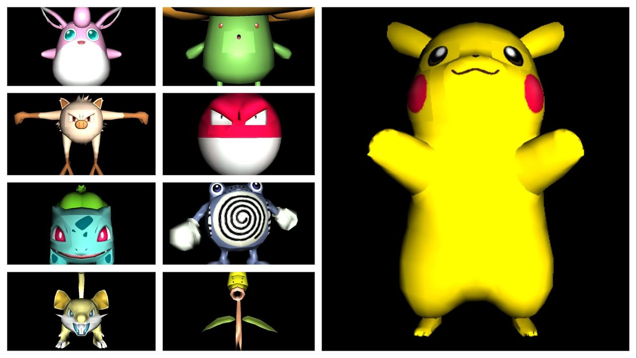 All Pokemon (Go) 3D Models for Free | All3DP