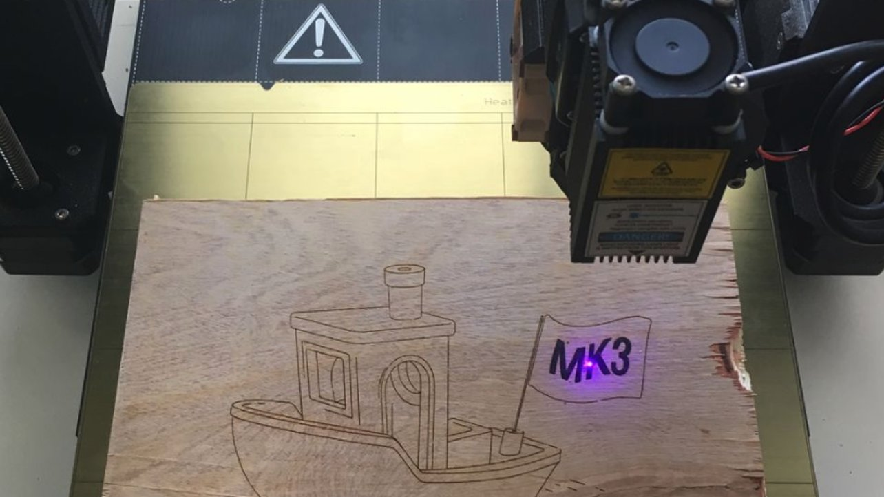Turn Your Prusa i3 MK3 into a Laser Engraver | All3DP