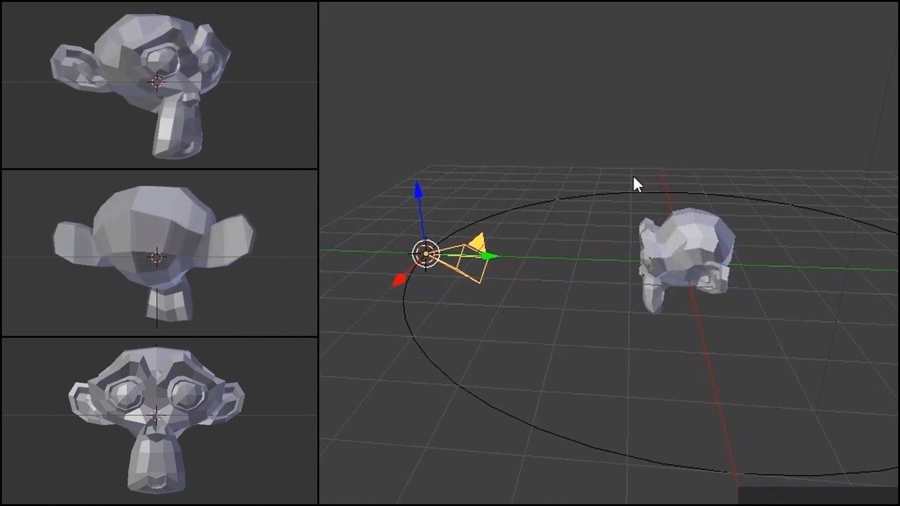 Blender: How to Move the Camera – Simply Explained   All3DP