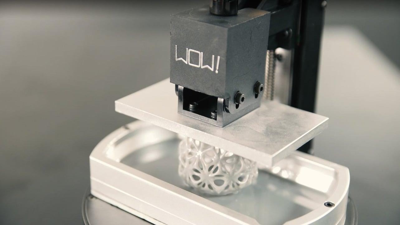 WOW! Launches SparkMaker FHD Resin 3D Printer on Kickstarter