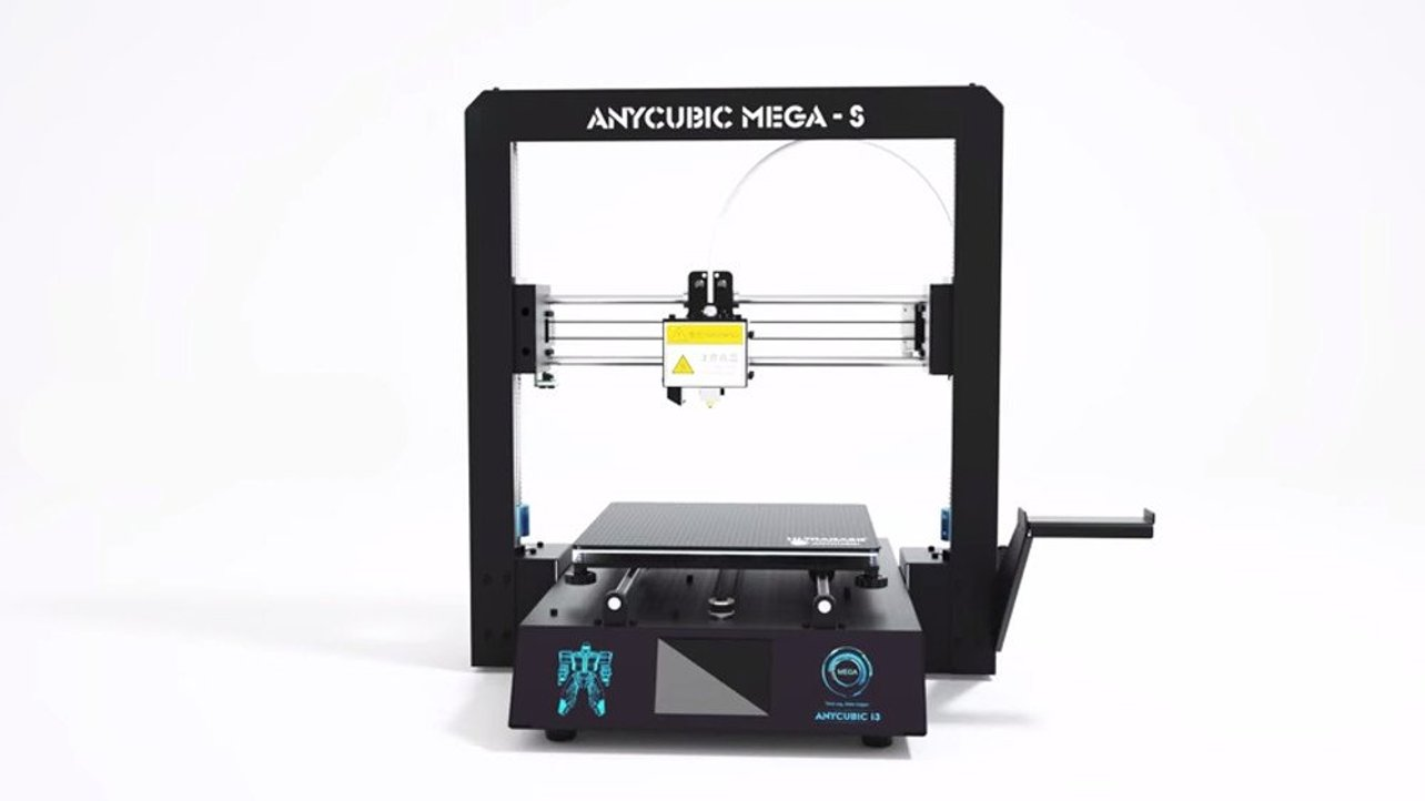2019 Anycubic Mega-S – Review the Specs   All3DP