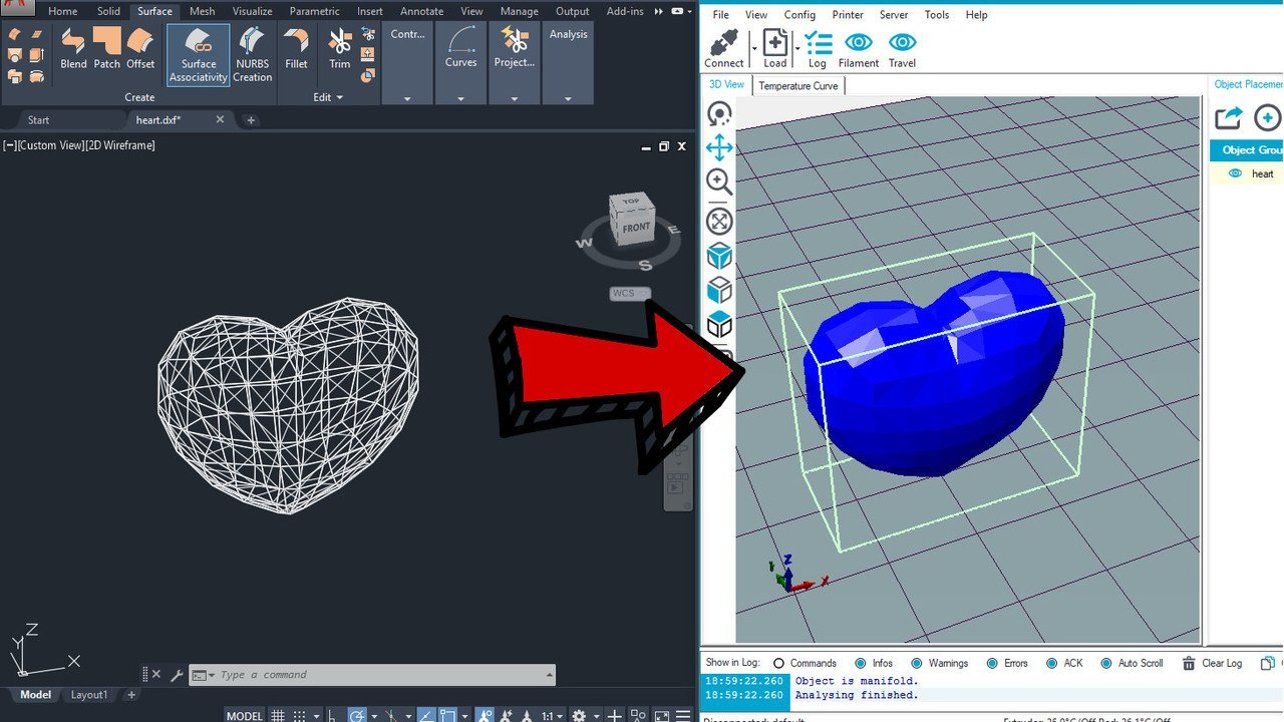 DXF to STL – How to Convert DXF Files to 3D Printable STLs