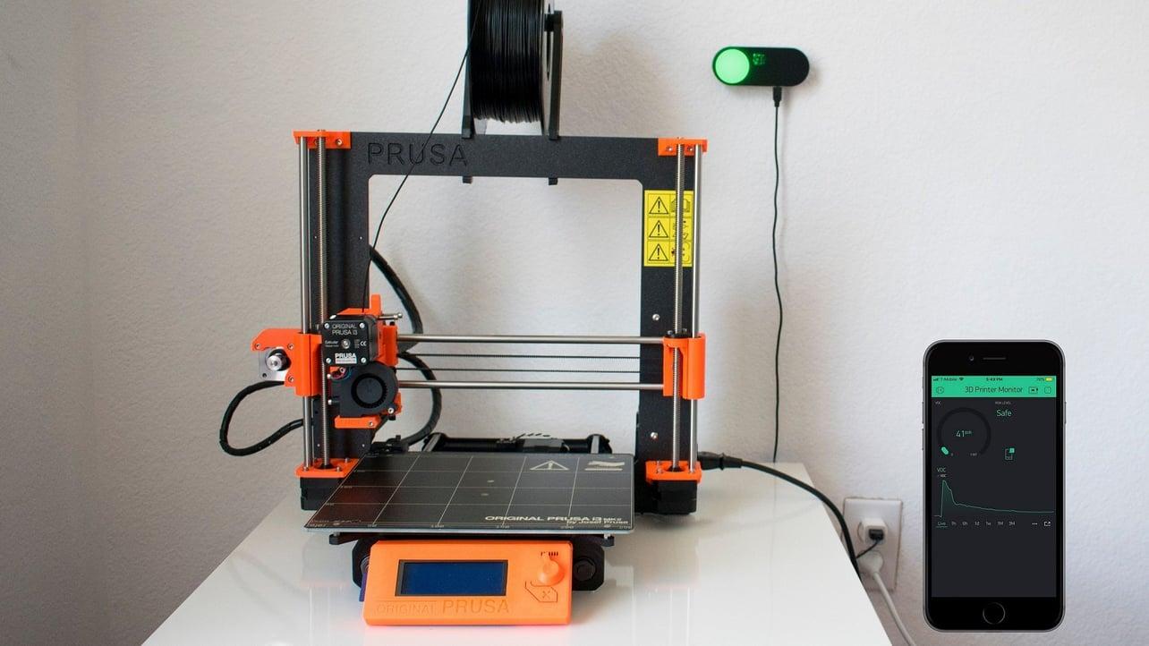Smart DIY 3D Printer Sensor Measures Harmful Emissions | All3DP