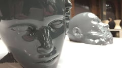 Featured image of Pussykrew's UFO's invade the 3D printed art scene