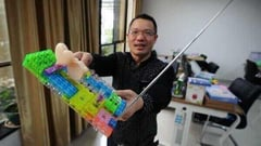 Featured image of Chinese Father Invents 3D Printed High-Tech Lego
