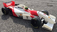Featured image of 3D Printed Replica of Ayrton Senna's 1993 Mclaren F1 Car