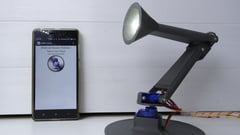 Featured image of This is a 3D Printed Desk Lamp with Voice Control
