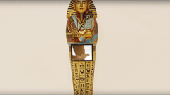"Featured image of Ubisoft Creates 3D Printed Replica of Tutankhamun's Sarcophagus for ""Assassin's Creed: Origins"""