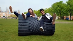 Featured image of 3D Printed Urban Furniture Made from Recycled Plastic