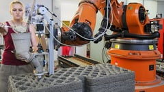 Featured image of Munich Researchers 3D Print Concrete using Selective Binding
