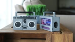 Featured image of 3D Print Your Own Raspberry Pi Airplay BoomBox