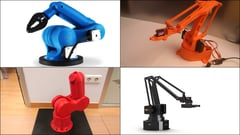 Featured image of 10 Best DIY / 3D Printed Robot Arms in 2020