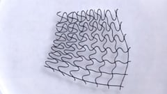 Featured image of NCSU Researchers Control 3D Printed Mesh Structures with Magnetic Fields