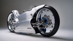 Featured image of Fuller Moto's Futuristic 2029 Custom Motorcycle Manufactured with Metal 3D Printing