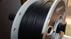 Featured image of AmazonBasics Premium PLA 3D Printer Filament Review