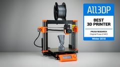 Featured image of Original Prusa i3 MK3 Review: Best 3D Printer of 2018