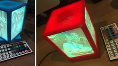 Featured image of [Project] 3D Print a Rotating Lithophane Box