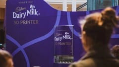 Featured image of Cadbury Celebrates World Chocolate Day with Dairy Milk 3D Printer