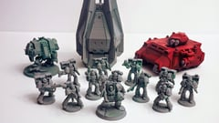 Featured image of 3D Printed Warhammer Stuff – 4 Best Sources