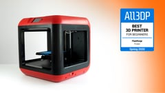 Featured image of Flashforge Finder Review: Best 3D Printer for Beginners 2020