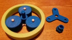Featured image of 3D Printed Planetary Gear: The 10 Best Models