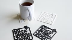 Featured image of 3D Printed Coaster: 10+ 3D Models to Protect Your Table