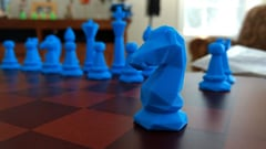 Featured image of 3D Printed Chess Set: 30 Great Sets & Boards to 3D Print