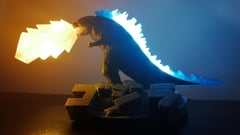 Featured image of 3D Printed Godzilla: 10 Terror-ific Models to 3D Print