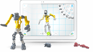 Featured image of 3D selfies evolve: Design your posable robot