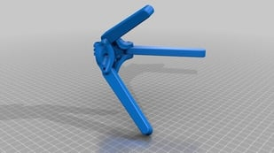 Featured image of 3D Printed Foldable Camera Tripod for Gopro/SJCAM