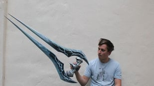 Featured image of Halo Energy Sword is Cutting Edge Cosplay