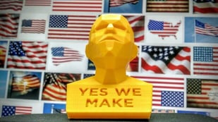 Featured image of 3D Print a Patriotic Bust to Celebrate Fourth of July