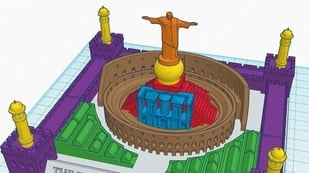 Featured image of 30 Wonders of the World 3D Printed