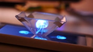 Featured image of 3D Printed Hologram Pyramid: No Glasses Required