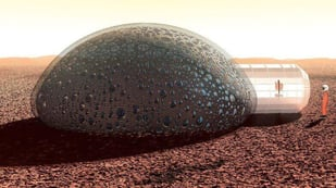 Featured image of Life on Mars? 3D Printed Habitat by Fabulous
