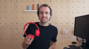 Featured image of Q&A with Patrick Schuur, Inventor of print+ DIY Headphones