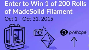 Featured image of Pinshape Gives Away Free Filament