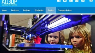 "Featured image of All3DP: ""3D Printing Is Going To Be a Mass Market"""