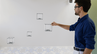 Featured image of BitDrones Create Holograms and Models In Mid-Air