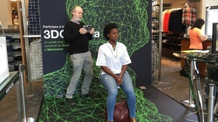 Featured image of Douglas Coupland Scans Shoppers for 3DCanada Project