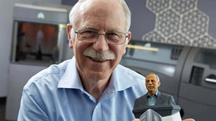 Featured image of 3D Printing Inventor Chuck Hull back at the Helm of 3D Systems