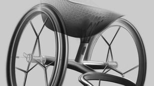 Featured image of Layer Designs World's First 3D Printed Wheelchair