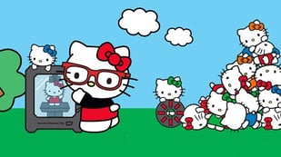 Featured image of New Hello Kitty 3D Printed Concept Store Opens