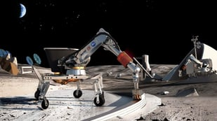 Featured image of Professor wants NASA to 3D Print Houses on the Moon