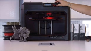 Featured image of Brand New MakerBot Replicator+ is Faster, Bigger, Quieter