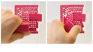 Featured image of Metamaterial Mechanisms: 3D Printed Door Handle & No Moving Parts
