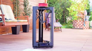 Featured image of Stealth Black: Layer One Atom 2.0 Delta 3D Printer Review
